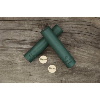 Green Leather Grip